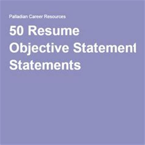 Manager Resume Objectives Samples Great Sample Resume
